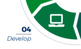 Step 4 Develop - eLearning development process